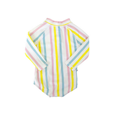 Multi Stripe Zip Rashie