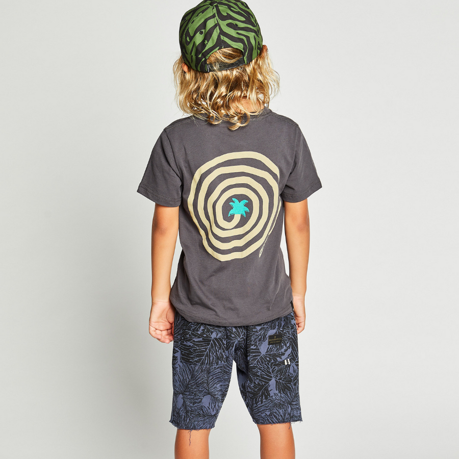 Munster Kids Dayoft Tee - Charcoal