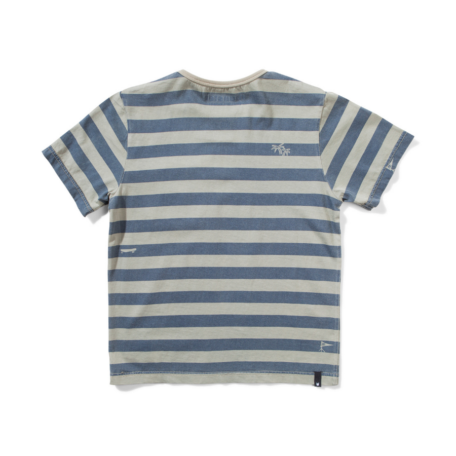 Munster Kids Flag Bearer Tee - Washed Olive