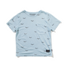 Munster Kids Flyby Tee - Washed Blue