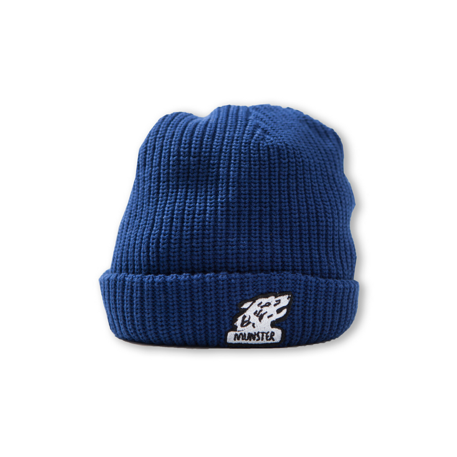 Munster Kids Grrrr Beanie - Navy - Annie and Islabean