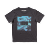 Munster Kids Icon Camo Tee - Soft Black - Annie and Islabean