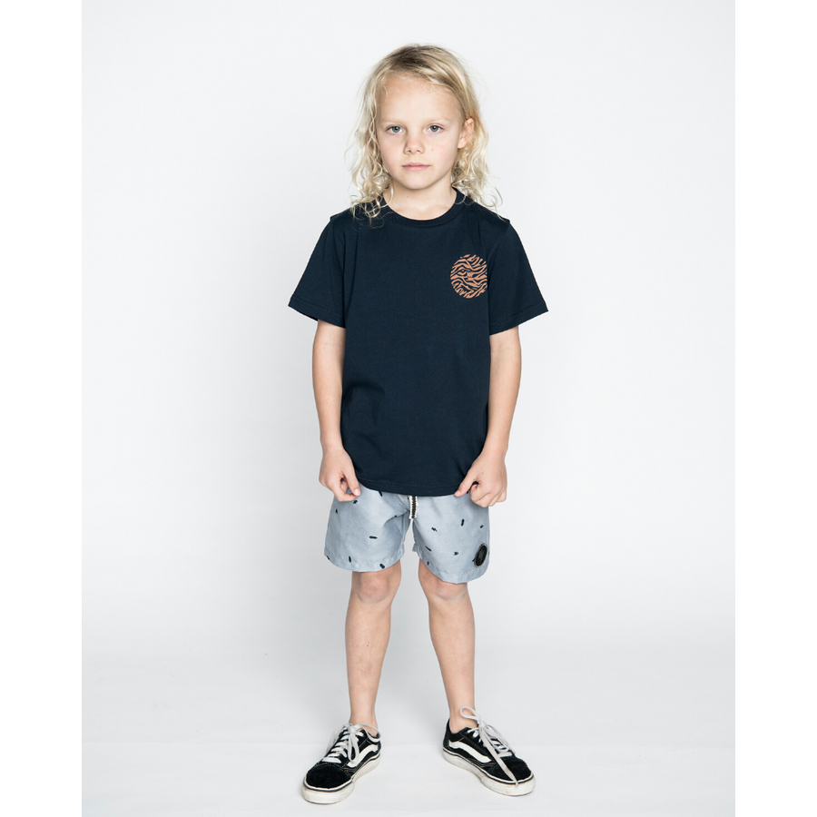 Munster Kids Madpalm Tee - Midnight