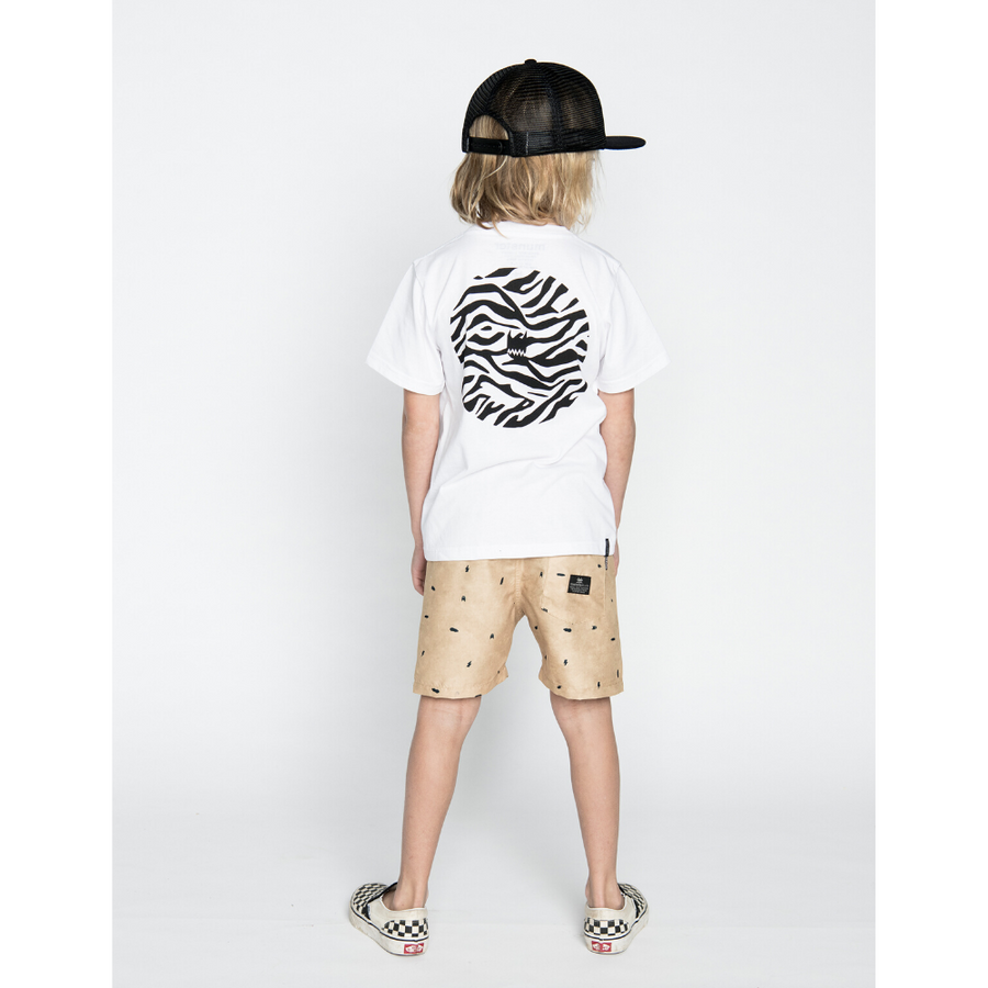 Munster Kids Madpalm Tee - White