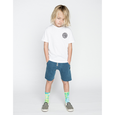 Munster Kids Madpalm Tee - White - Annie and Islabean