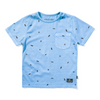 Munster Kids Quiver Tee - Blue