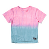 Munster Kids Splitz Tee - Magenta/Blue - Annie and Islabean