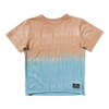 Munster Kids Splitz Tee - Mustard/Blue - Annie and Islabean