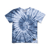Munster Kids Tornado Tee - Blue Tie Dye - Annie and Islabean
