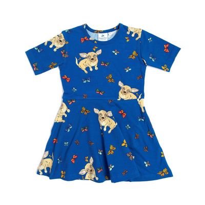 Bean The Chihuahua Dress, Oomph & Floss - Annie and Islabean