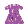 Ezra The Tabbycat Dress - Bluebell Purple, Oomph & Floss - Annie and Islabean
