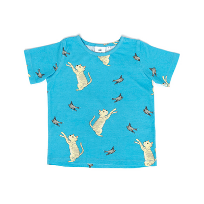 Ezra The Tabbycat Tee, Oomph & Floss - Annie and Islabean