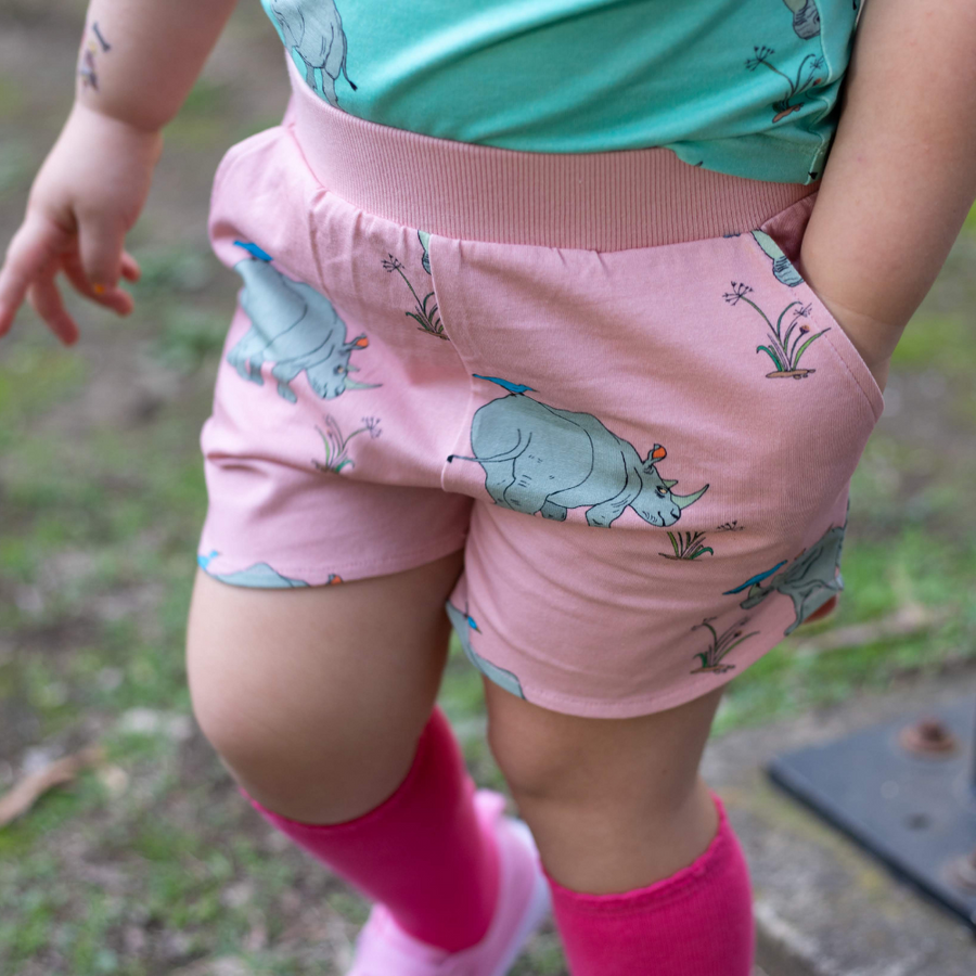 Oomph and Floss Rhinoceros Shorts