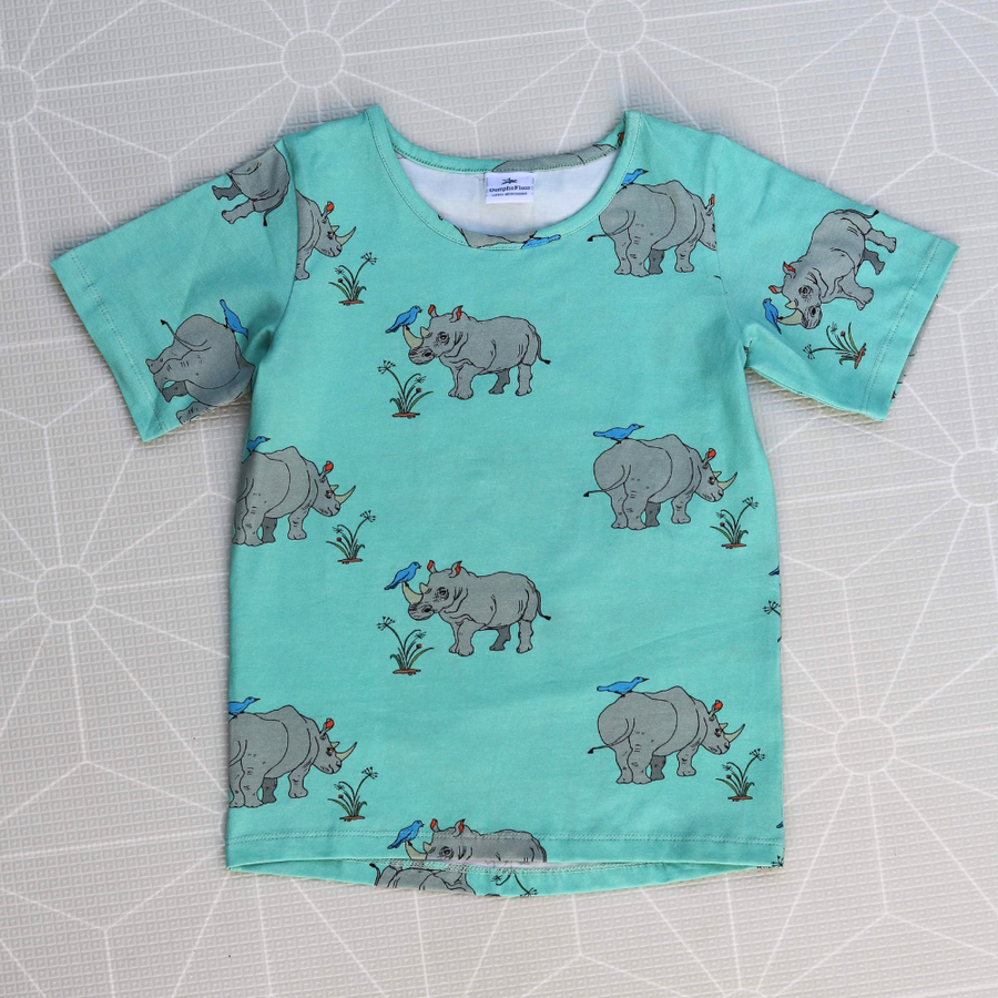 Oomph and Floss Rhinoceros Tee - Annie and Islabean