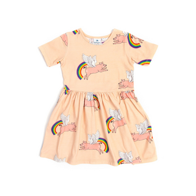 Zoop The Wonderpig Dress - Cloud Pink