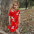 Zoop The Wonderpig Dress - Cherry Tomato Red