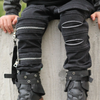 OOVY Acid Wash Pants - Black