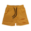 OOVY Mustard Luxe Shorts - Annie and Islabean
