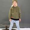 OOVY Olive Long Sleeve Hooded Top - Annie and Islabean