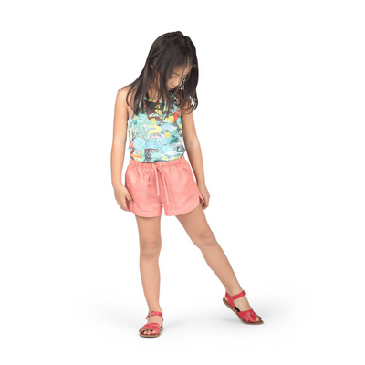 Paper Wings Chambray Shorts - Annie and Islabean
