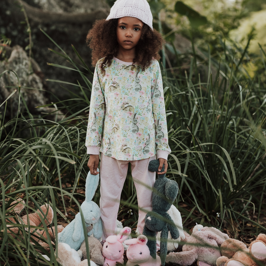 Paper Wings Easter Dreaming Long Sleeve Pyjama Set - Annie and Islabean