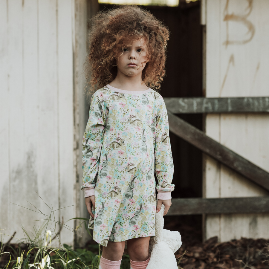 Paper Wings Easter Dreaming Long Sleeve Nightie - Annie and Islabean