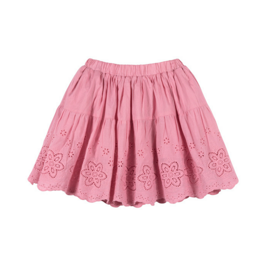 Paper Wings Gathered Lace Skirt