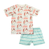 Paper Wings Happy Holidays Short Sleeve Pyjama Set - Annie and Islabean