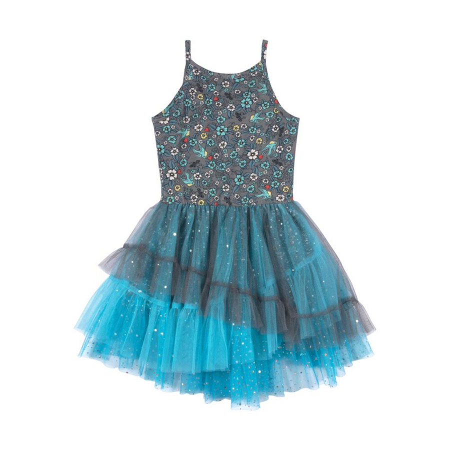 Paper Wings Tattoo Reboot Tutu Dress - Annie and Islabean