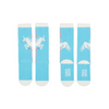 Paper Wings Unicorns Knee High Socks - Blue
