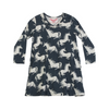 Paper Wings Unicorns Frilled Shift Dress