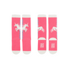 Paper Wings Unicorns Knee High Socks - Pink