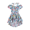 Paper Wings Vintage Butterfly Roses Off Shoulder Dress