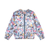 Paper Wings Vintage Butterfly Roses Satin Bomber