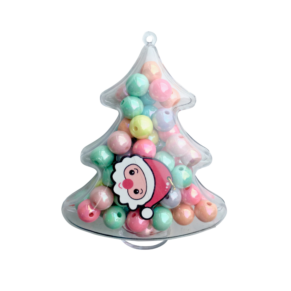Image Christmas Tree.Red Bobble Christmas Tree Biy Kit