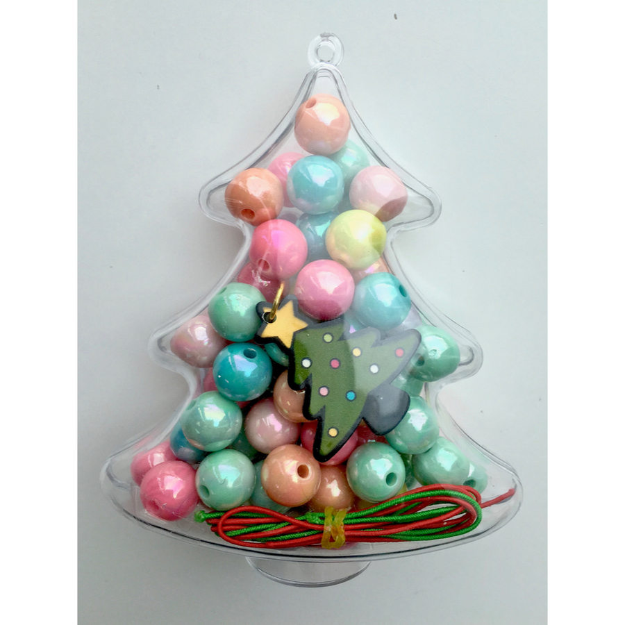 Red Bobble Christmas Tree BIY Kit