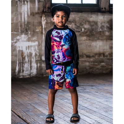 Rock Your Baby Abstract Boardshorts