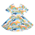 Pre-order Rock Your Baby Aloha Rainbow Mabel Dress