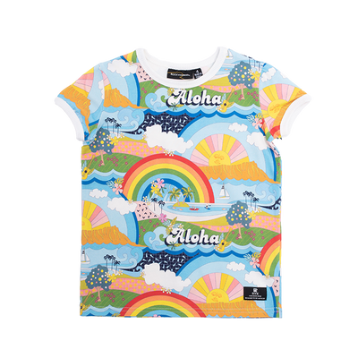 Rock Your Baby Aloha Rainbow T-Shirt