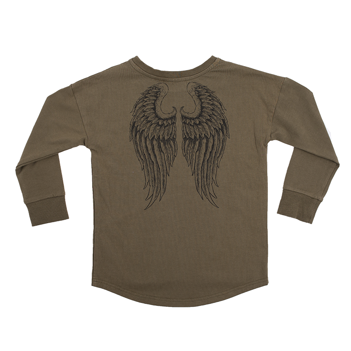 Rock Your Baby Angel Long Sleeve T-Shirt