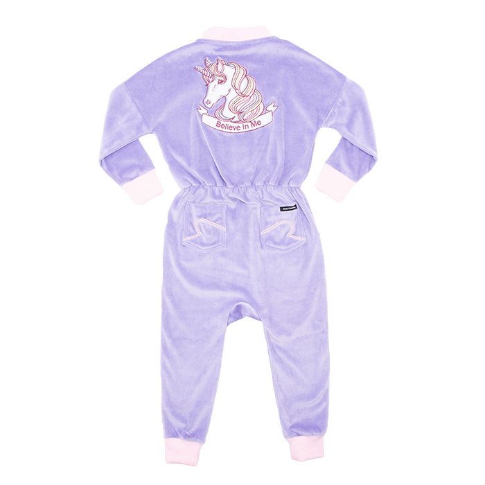 Rock Your Baby Believe In Me Long Sleeve Jumpsuit - Annie and Islabean