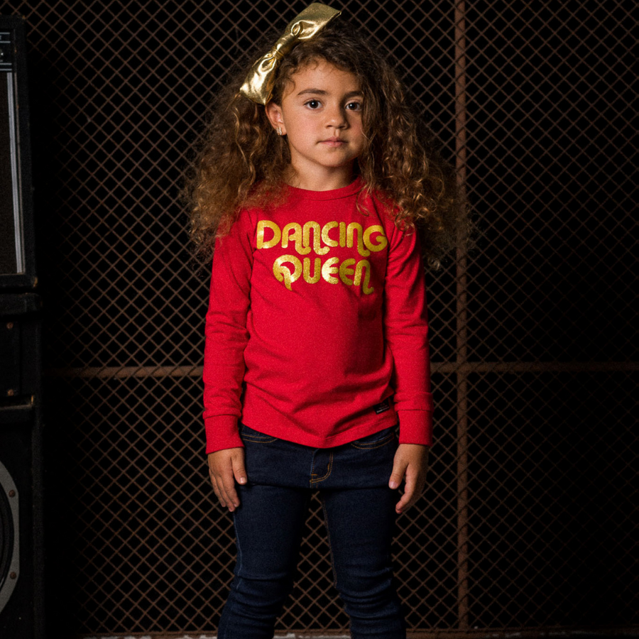 Rock Your Baby Dancing Queen Long Sleeve T-Shirt - Annie and Islabean