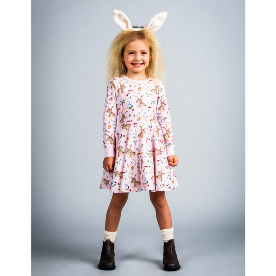 Rock Your Baby Cotton Tail Waisted Dress - Annie and Islabean