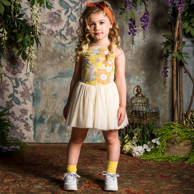 Rock Your Baby Flower Power Lou Lou Dress - Annie and Islabean
