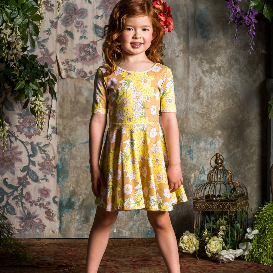 Rock Your Baby Flower Power Mabel Dress