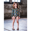 Rock Your Baby Jean Long Sleeve One-Piece Swimsuit