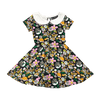 Rock Your Baby Jean Peter Pan Waisted Dress