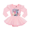 Rock Your Baby Princesses Long Sleeve Circus Dress