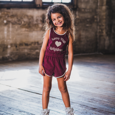 Rock Your Baby Love Thy Neighbour Romper - Annie and Islabean