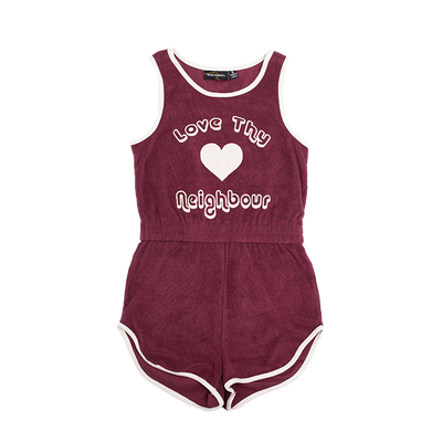 Rock Your Baby Love Thy Neighbour Romper